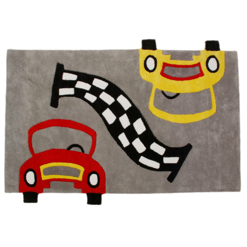 Jovi Home Race Cars Rug