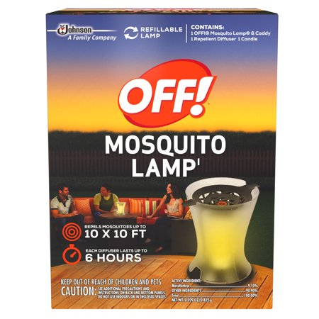Off  Mosquito Lamp Starter Kit 0 029 Ounces