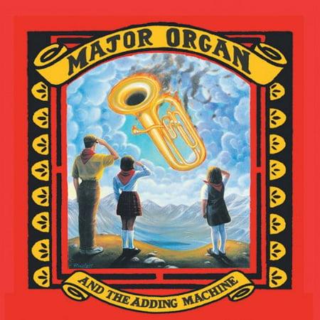 Rock Organ Technique - Major Organ and The Adding Machine (Includes DVD) (CD)