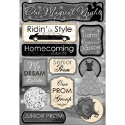 Cardstock Stickers-One Magical Night