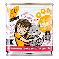 (12 Pack) Weruva BFF Tuna & Salmon Soulmates Recipe Grain-Free Wet Cat Food, 10 oz. Cans