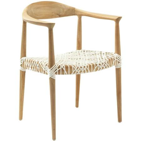 Bandelier Arm Chair Light Oak