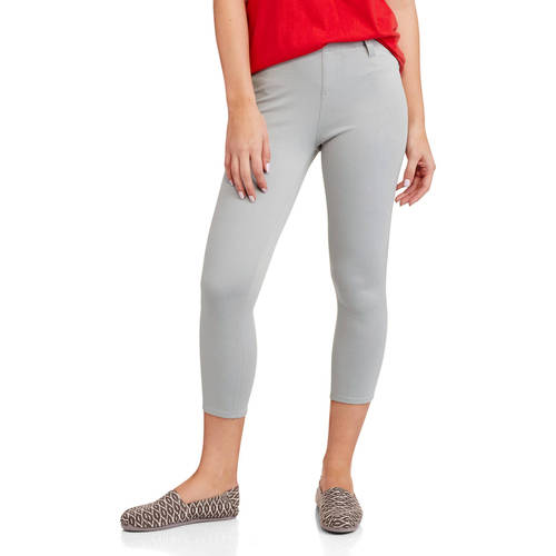 Faded Glory Women's Capri Knit Color Jegging by