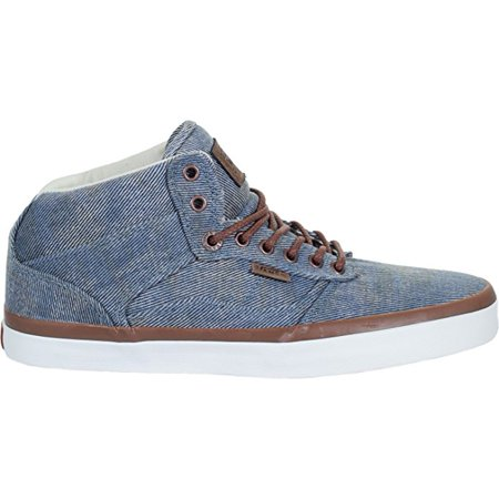 f8438908d8 Vans - Vans Bedford + Acid Denim Blue Men s Classic Skate Shoes Size 10.5 -  Walmart.com