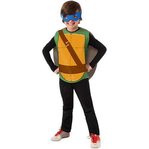 "Teenager Mutant Ninja Turtle ""Leonardo"" Boys Jumpsuit Halloween Costume"