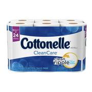 Cottonelle Clean Care Toilet Paper, 12 Double Rolls