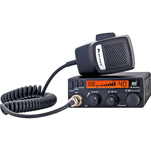 Midland 40-Channel Mobile CB Radio with Weather Scan Technology