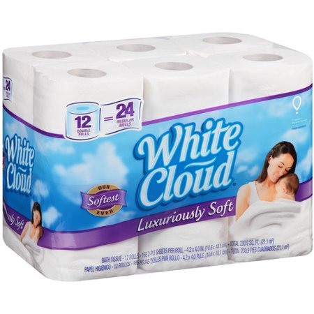 white cloud bathroom tissue white cloud luxuriously soft bath tissue rolls 165 21511 | a31277d1 34c9 4b76 a337 01695ef232ba 1.31e06c68e9f2d0fad2586c6f289a871b