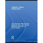 Culture, Class, Distinction - eBook