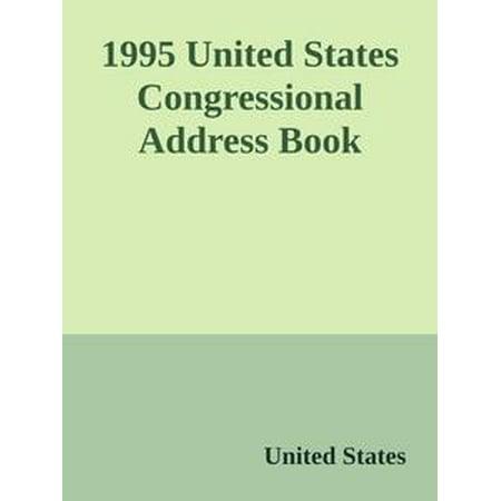 1995 United States Congressional Address Book - (United States Mint Proof Set 1995 Value)