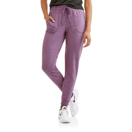 d59df0b1b2845 Danskin Now Women s Core Active French Terry Jogger - Walmart.com