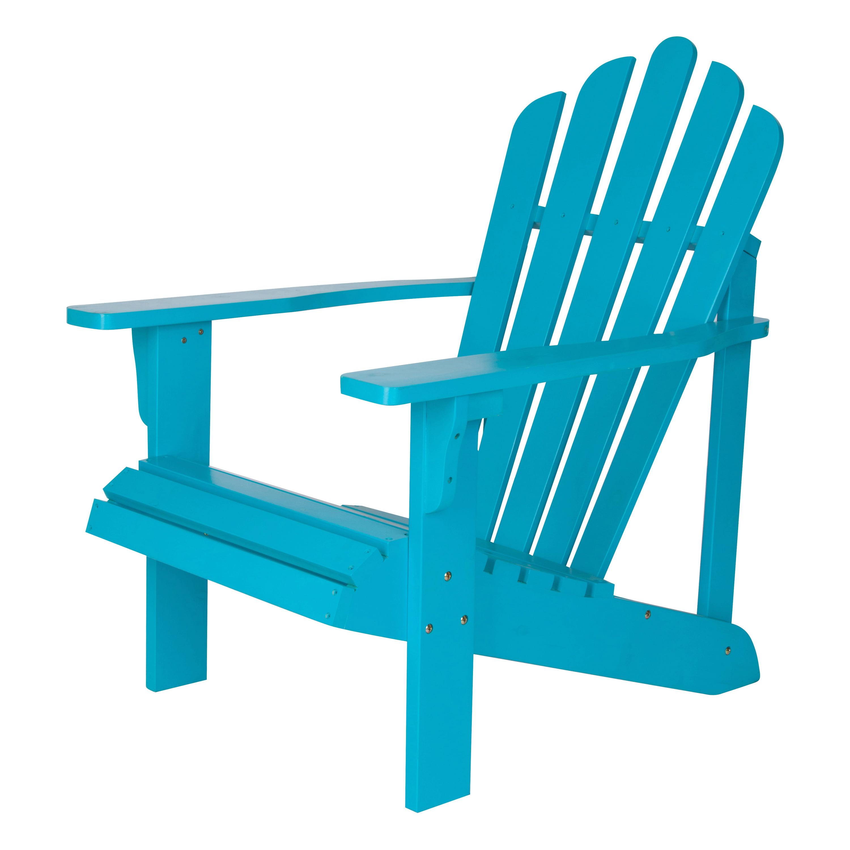 Shine Company Westport Adirondack Chair Turquoise by Shine Company