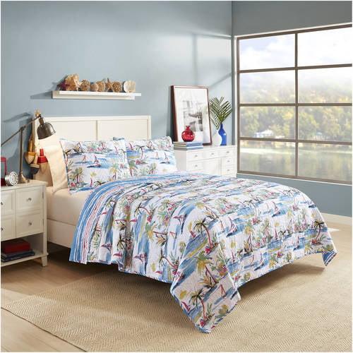 Vue Second Wind Reversible Cotton Quilt Set