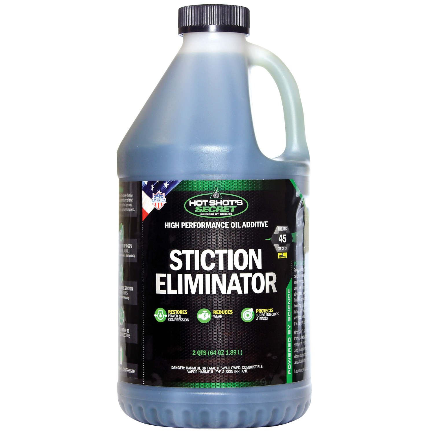 Hot Shot's Secret Stiction Eliminator Diesel Oil Additive 64 FL. OZ.