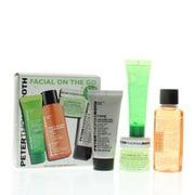 PTR-Facial On The Go (Cucumber Gel Mask Extreme Detoxifying Hydrator 14 ml, Anti-Aging Cleansing Gel 30 ml, Cucumber De-Tox Bouncy Hydrating Gel 15 ml, Firmx Peeling Gel 15 ml)