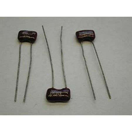 500v Dipped Mica Capacitors (CD10ED330J03 33 PF 500V 5% TOL MICA CAPACITOR RADIAL LEADS (5 Per Pack) -)