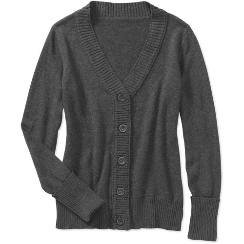 Faded Glory Women's Essential Button Down Cardigan