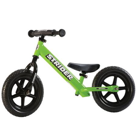Strider - 12 Sport Balance Bike, Ages 18 Months to 5 Years - Green