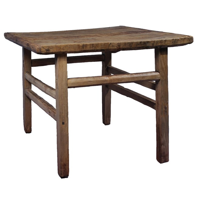 Antique Revival Vintage Style Dinner Table, Reclaimed Woo...