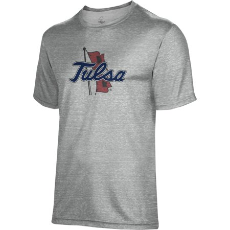 Spectrum Sublimation Unisex University of Tulsa Poly Cotton Tee](Dinosaurs Tulsa)