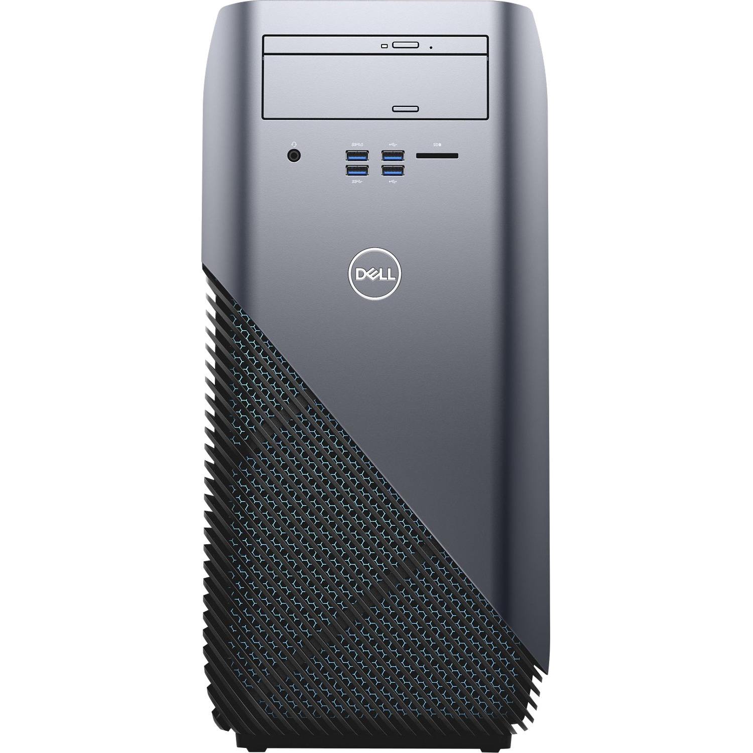Dell Inspiron Gaming Desktop, AMD Ryzen 5 1400, 3.4GHZ, AMD Radeon RX 570 4GB GDDR5 Graphic Card, 8GB DDR4 Memory, 1TB HD , I5675A933BLU