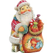 G Debrekht Derevo X-Mas Night Santa Box