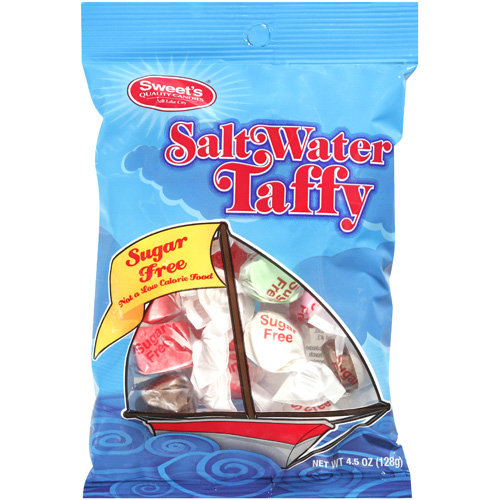 Sweet's Quality Candies Salt Water Taffy Candy, 4.5 oz