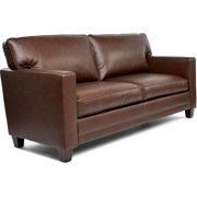 Truly Home Martin Brown Leather Sofa