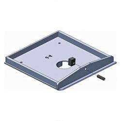 Pullrite 331757 Quick Connect Capture Plate For Trailair Tri Glide Airbag Shock King Pin Box Models