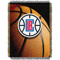 LA Clippers The Northwest Company 48'' x 60'' Photo Real Woven Tapestry Throw