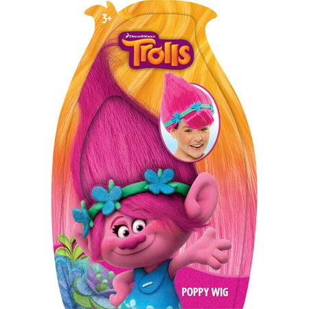 Trolls Poppy Wig - Pink Troll Wig