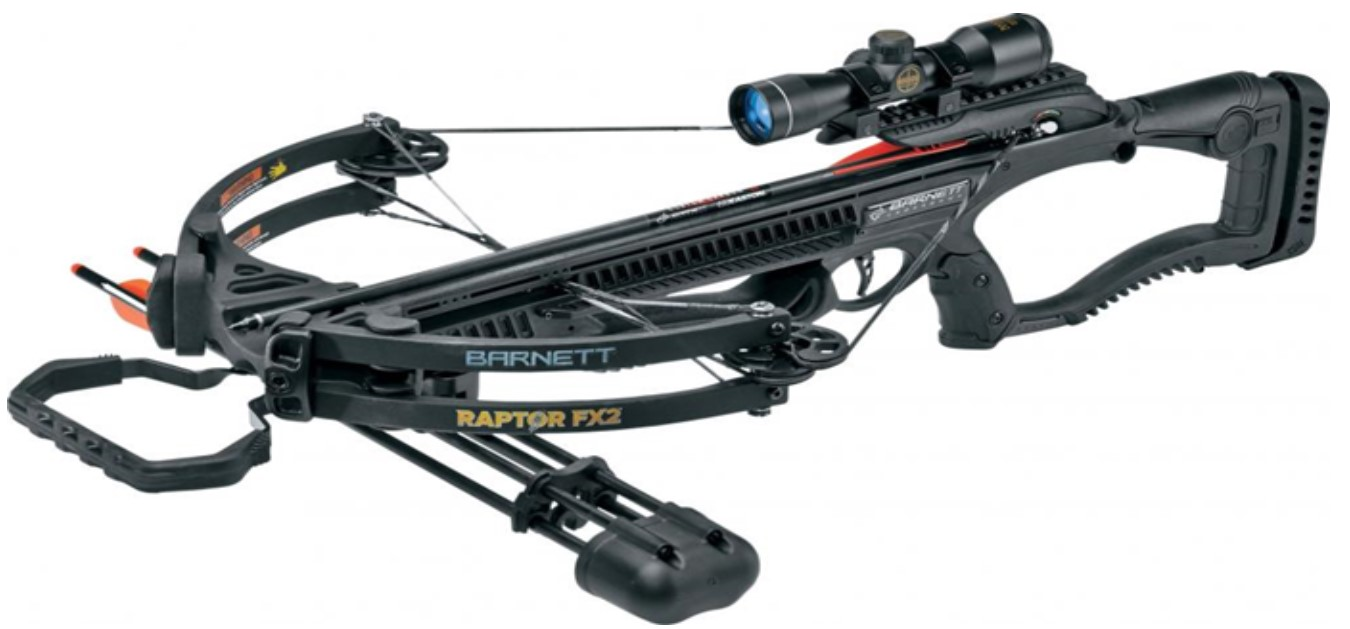 Barnett Outdoor Sports Hunting Archery Black Raptor FX2 Crossbow by Barnett Crossbows