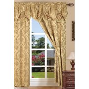 Curtains with Attached Valances