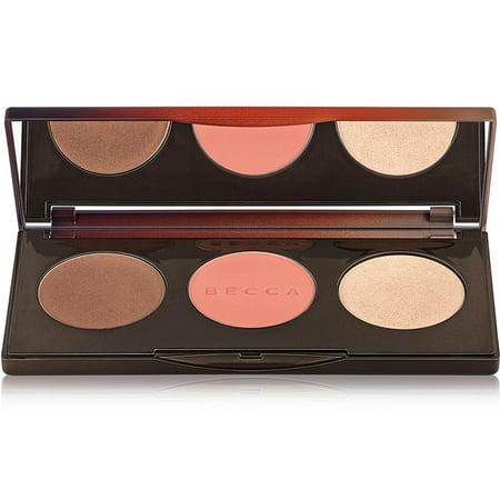 Becca Sunchaser Bronzer, Blush & Highlight Palette New In