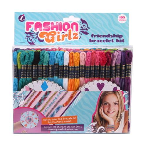 Craft Thread Fashion Grlz 105Pk