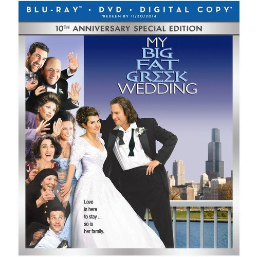 My Big Fat Greek Wedding: 10th Anniversary Special Edition (Blu-ray   DVD   Digital HD) (With INSTAWATCH)