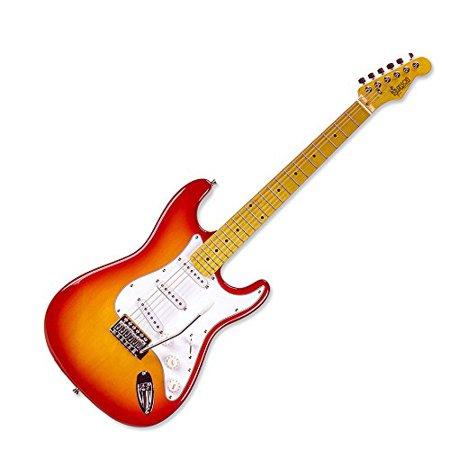 Branson Cherry Sunburst S-Type Vintage Style Electric Guitar