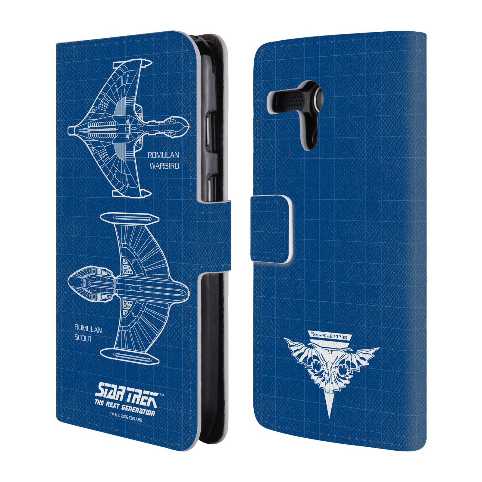 OFFICIAL STAR TREK SHIPS OF THE LINE TNG LEATHER BOOK WALLET CASE COVER FOR MOTOROLA PHONES
