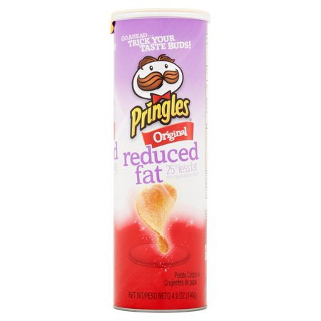 Pringles Original Reduced Fat Potato Crisps, 4.9 oz