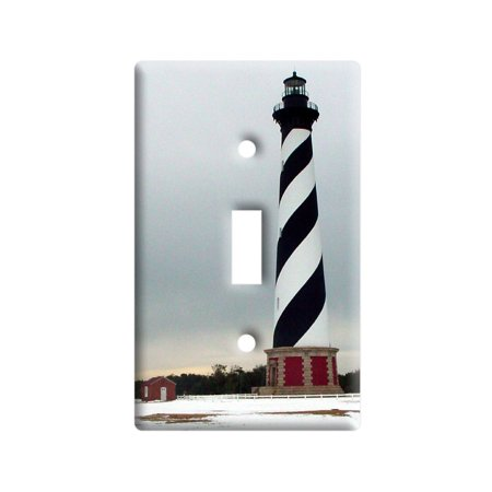 Cape Hatteras Lighthouse Light House Light Switch Plate Cover