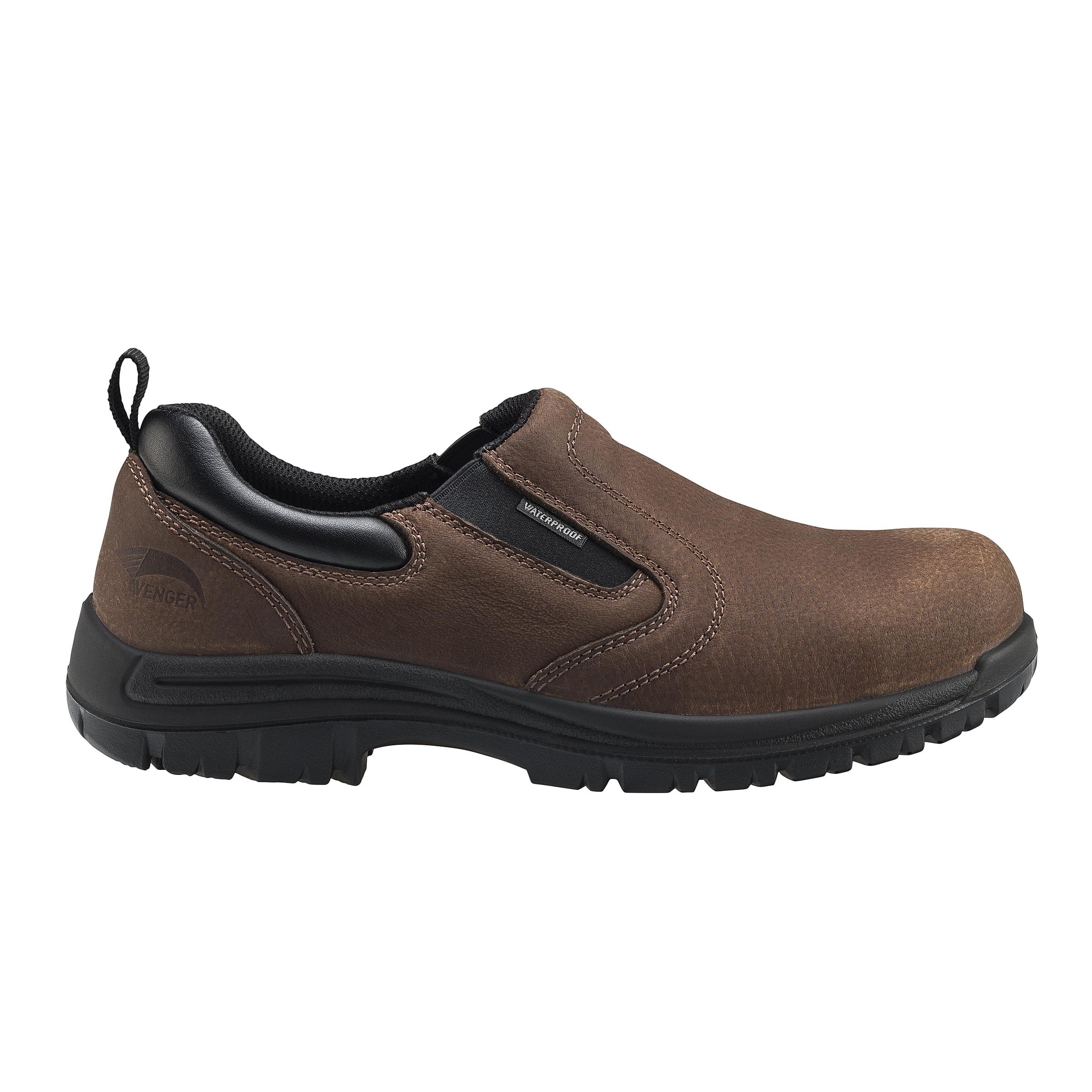 Men's Leather Waterproof Slip On