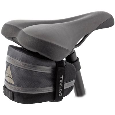Axiom Catskill Lx Seat Bag, Grey/Black
