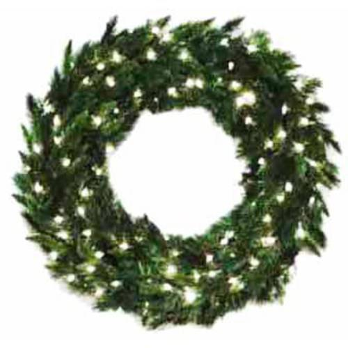 "Vickerman 36"" Imperial Pine Wreath Dura-Lit 100CL"