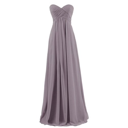 Sweetheart Bridesmaid Chiffon Prom Dress Long Evening Gown