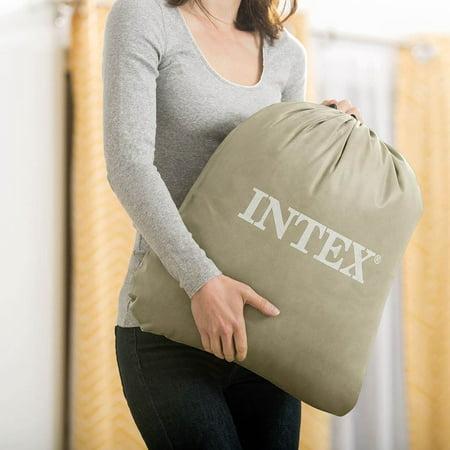 Intex Kids Travel Airbed Mattress with Hand Pump