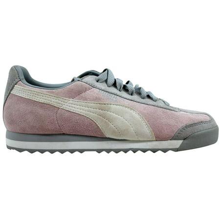 Puma Roma Women Shoes (Puma Roma Pigskin EXT Cradle Pink/Vapor Blue-White 341959 17)