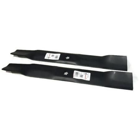 2 Hi Lift Blades fits John Deere 42