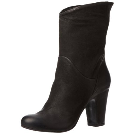 Sesto Meucci Womens Nilly Leather Round Toe Mid-Calf Boots