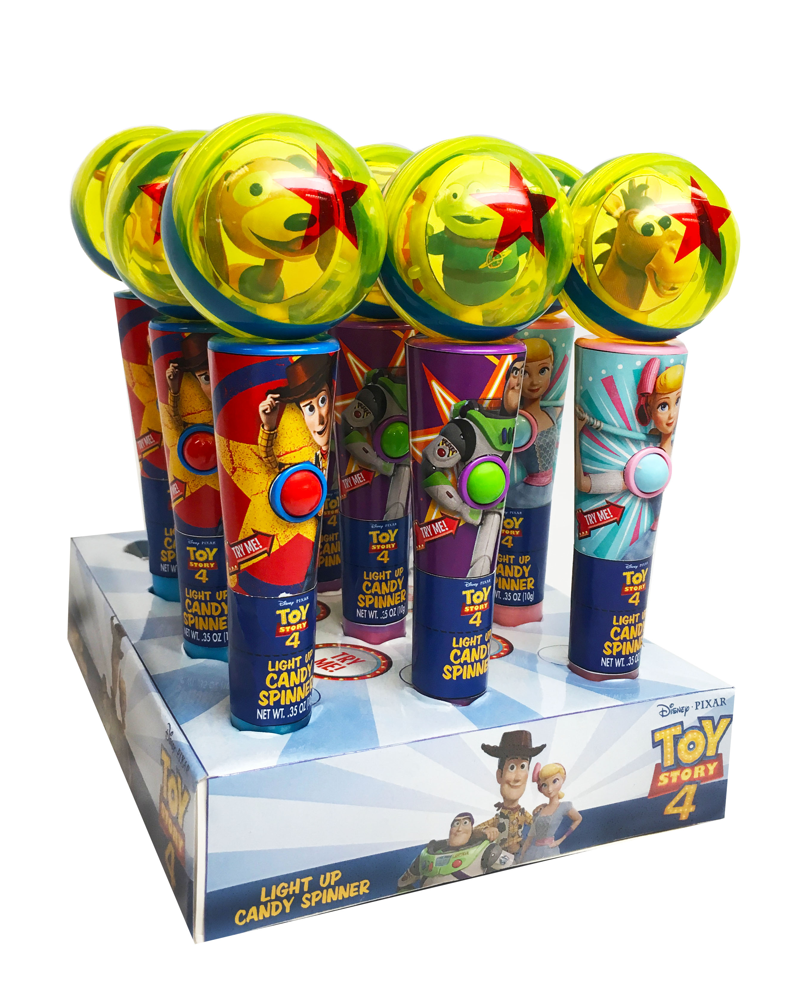 Toy Story Light Up Candy Spinner