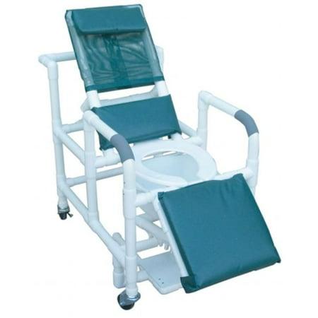 Mjm International 196 Sq Pail Reclining Shower Chair